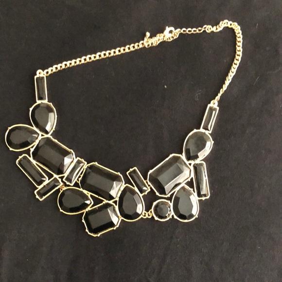 H&M black statement necklace